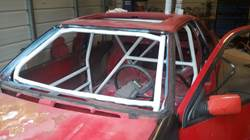 Roll cage is in