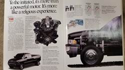 1998 Dodge Truck sales brochure Cummins Diesel section.