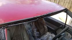 Roof repair bodywork