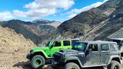 Death Valley California with the San Diego Jeep Club