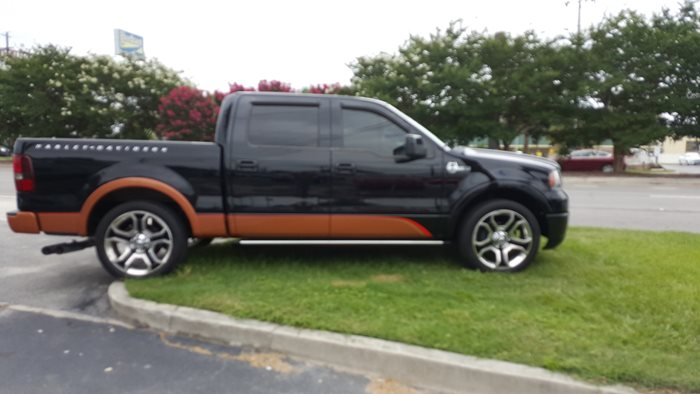 2008 Ford F150 Harley Davidson With Saleen Supercharger Drivn