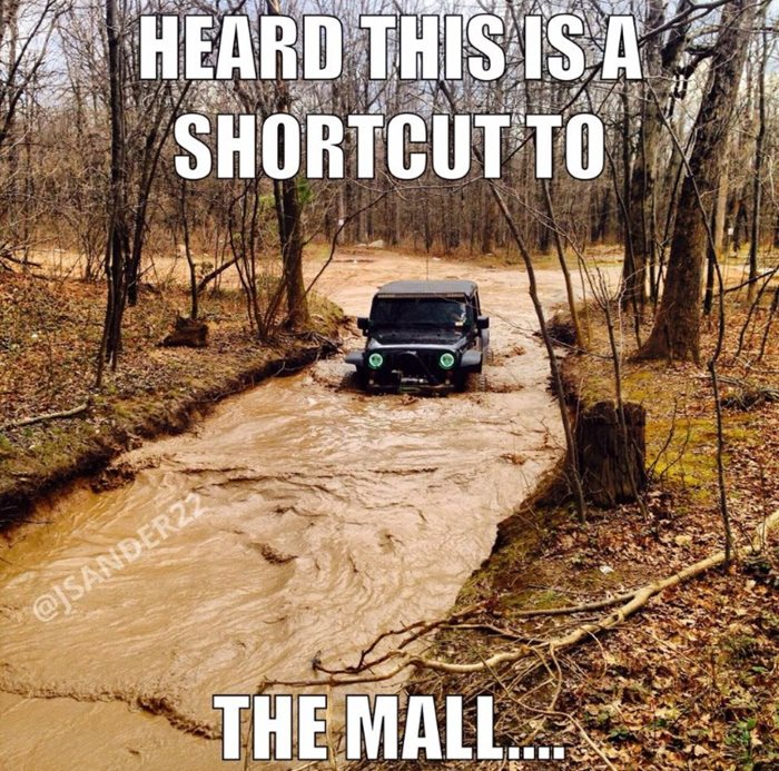 A meme of my jeep