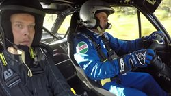 Interview of Hannu Mikkola at the Lake Superior Rally