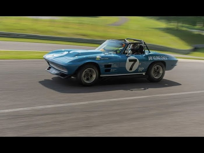 Racing the Vette at LIMEROCK Empire Event 2018